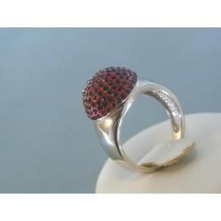 Strieborný prsteň DPS53532