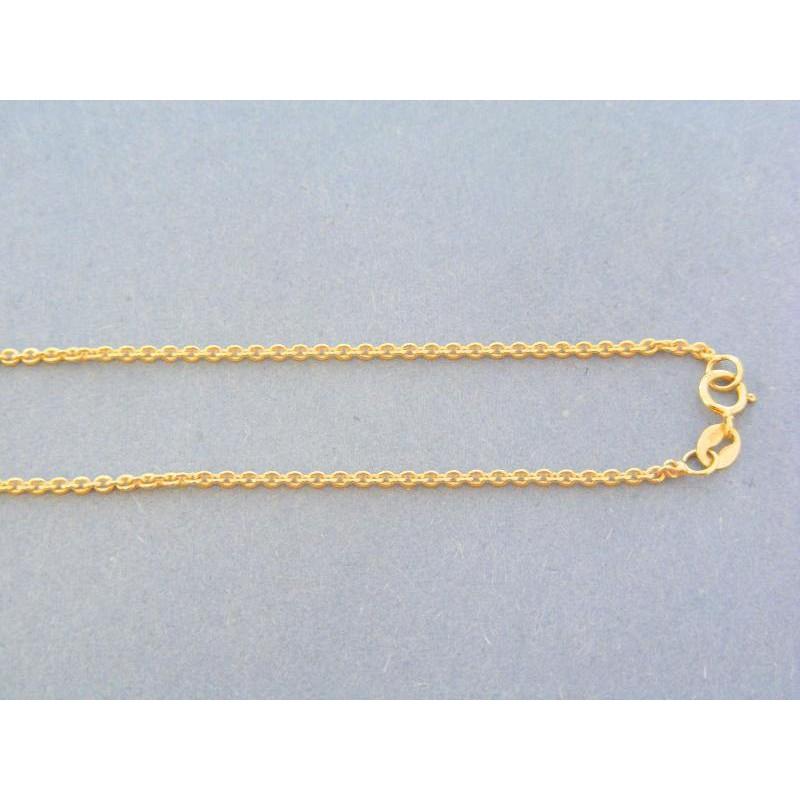 251a55891 Zlatá retiazka žlté zlato vzor pílka VR455298Za. Loading zoom
