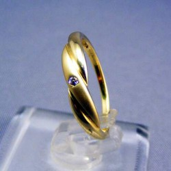 Zlatý dámsky prsteň prepletený žlté zlato VP49133Z
