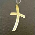 Zlatý prívesok krížik jednoduchý VI089K