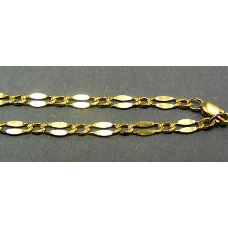 Zlatá retiazka vzor zrno žlté zlato