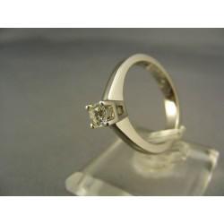 Diamantový prsteň v 18 karátovom bielom zlate VD55565