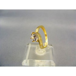 Zlatý prsteň dámsky prepletený žlté zlato VP54261Z