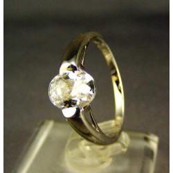 Zlatý dámsky prsteň biele zlato DP57287/2B