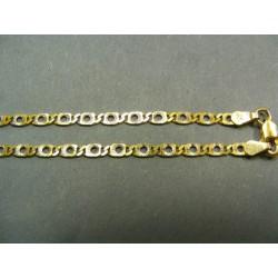 Zlatá retiazka žlte zlato s jemným vzorom VR42459
