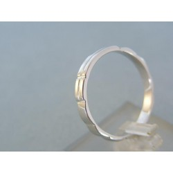 Zlatý prsteň ruženec biele zlato DP62273B