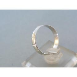 Zlatý prsteň ruženec biele zlato VP55209B