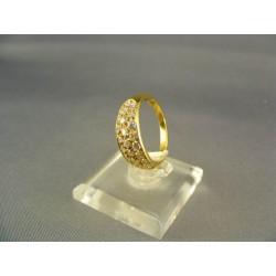 Zlatý dámsky prsteň žlté zlato DP53283Z