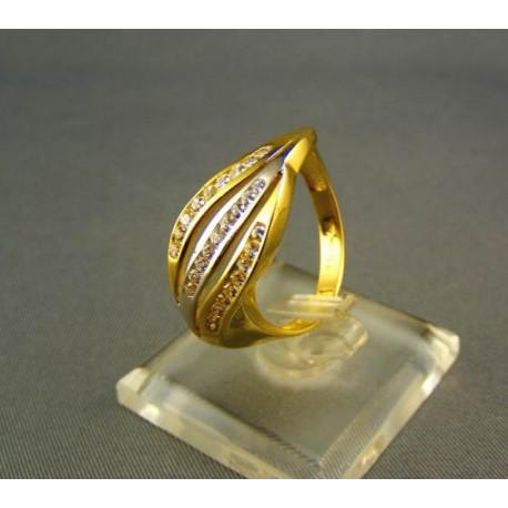 Dámsky prsteň s kamienkami