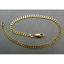 Zlatý náramok vzorovaný pancier VN20422