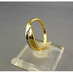 Zlatý dámsky prsteň  viacfarebné zlata VP56167V