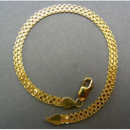 Dámsky zlatý náramok žlté zlato