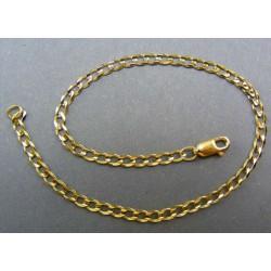 Zlatý náramok pancierový vzor DN21371