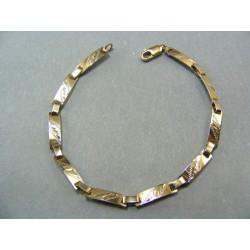 Zlatý náramok z bieleho zlata VN175458B