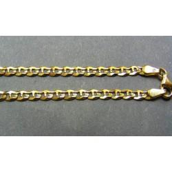 Zlatá retiazka žlté zlato rovnake očka VR45581
