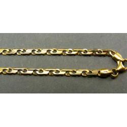 Zlatá retiazka žlté zlato VR45795