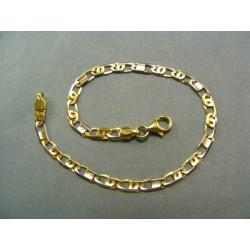 Zlatý náramok žlté zlato VN18365Z