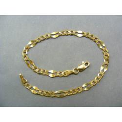 Zlatý náramok vzor zrno VN21507