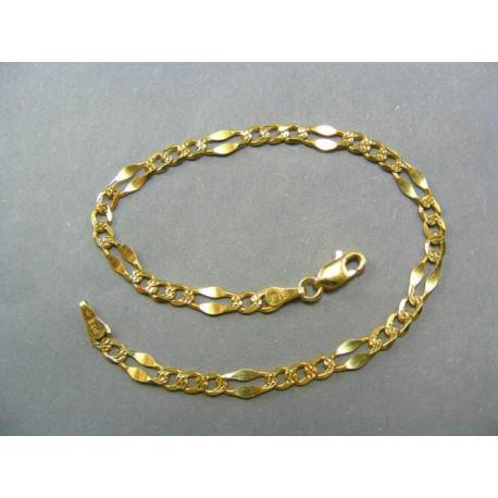 Zlatý náramok vzor zrno