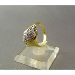 Zlatý prsteň elegantný dámsky VP55530