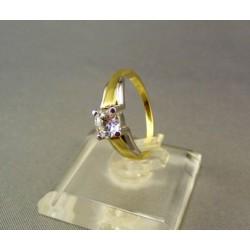 Zlatý prsteň dámsky viacfarebné zlato VP50270V