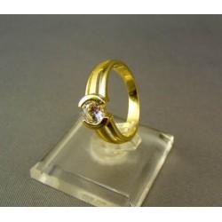 Zlatý prsteň dámsky žlté zlato DP52310Z