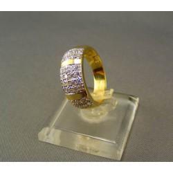 Zlatý prsteň dámsky žlté zlato DP53400/1