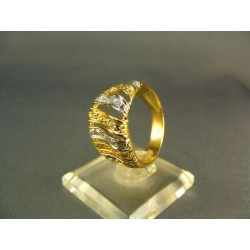 Zlatý prsteň dámsky viacfarebné zlata VP56719V