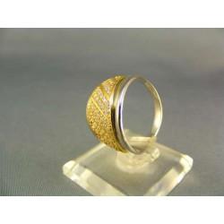 Zlatý prsteň dámsky viacfarebné zlata VP57556V