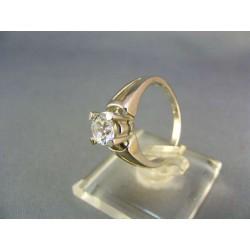 Zlatý dámsky prsteň biele zlato VP53442B