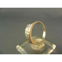 Zlatý prsteň biele zlato VP53389B