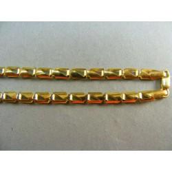 Zlatá retiazka žlté zlato štvorčeky VR4951048