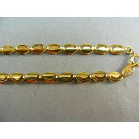 Zlatá retiazka zo žltého zlata