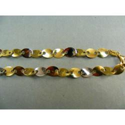 Zlatá retiazka viacfarebné zlato DR45750V