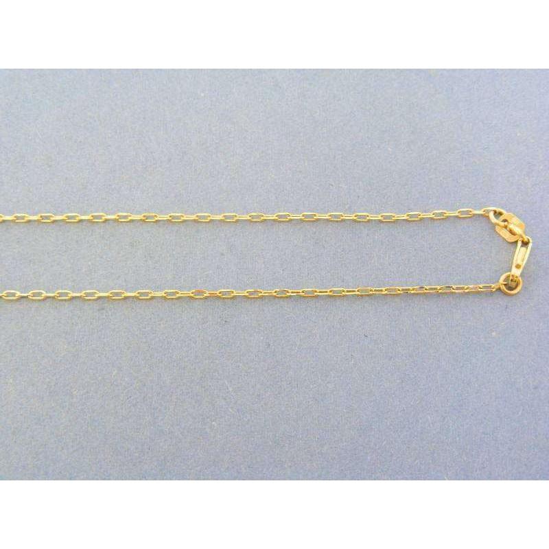 95fc0b342 Zlatá retiazka žlté biele červené zlato vzor pílka DR42444V. Loading zoom