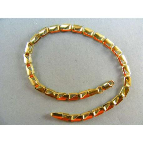 Zlatý náramok dámsky žlté zlato