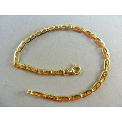 Zlatý dámsky náramok vyrezávane očka VN185262