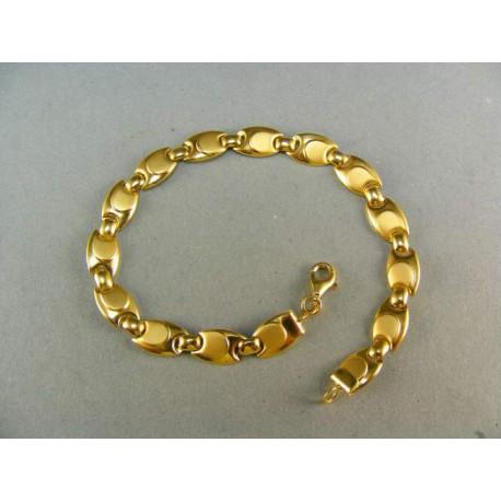 Luxusný zlatý náramok