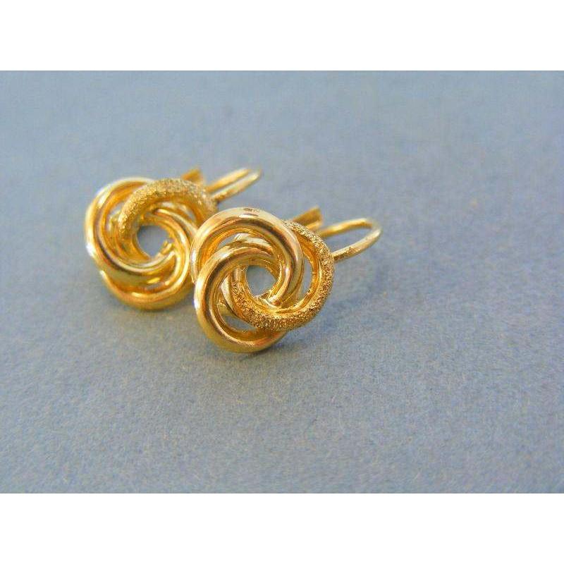 29cb558fc Zlaté náušnice dámske žlté zlato VA218Z. Loading zoom
