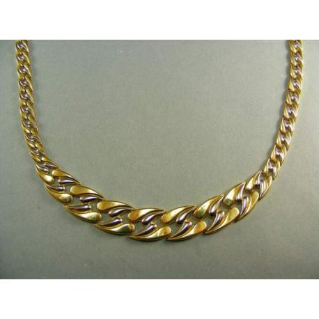 Zlatý náhrdelník zo žltého zlata