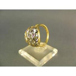 Zlatý prsteň viacfarebné zlata VP58318V