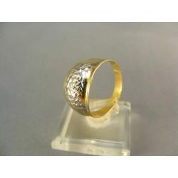 Zlatý prsteň viacfarebné zlato DP62184V