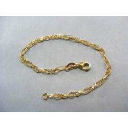 Zlatý dámsky náramok zo žltého zlata DN18217Z