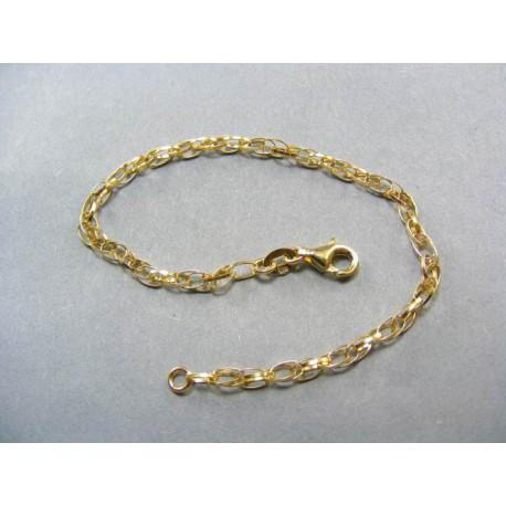 Zlatý dámsky náramok zo žltého zlata