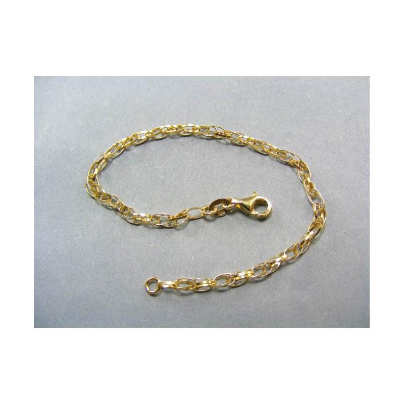 014b7d4d2 Zlatý dámsky náramok zo žltého zlata. Loading zoom