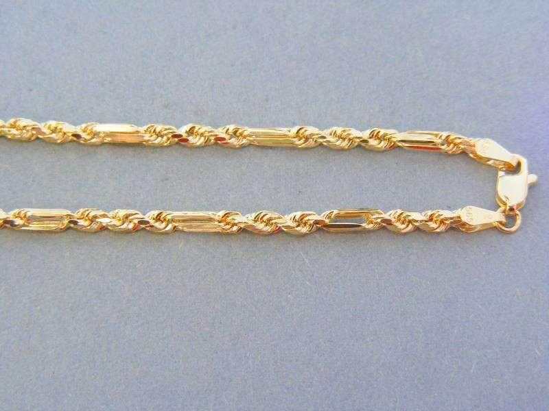 17668a607 Zlatá retiazka pekný vzor žlté zlato
