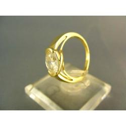 Zlatý prsteň dámsky žlté zlato VP49308Z
