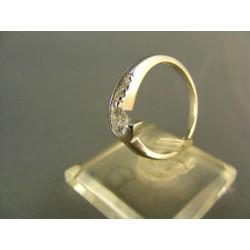 Zlatý prsteň biele zlato VP54261B