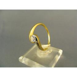 Zlatý prsteň zo žltého zlata VP58225Z