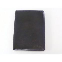Pánska peňaženka kožená čierna farba VGALANA069C